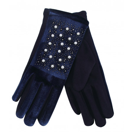 Lady Gloves w/ Pearls