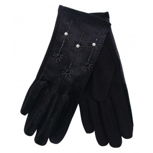 Lady Gloves w/ Pearls