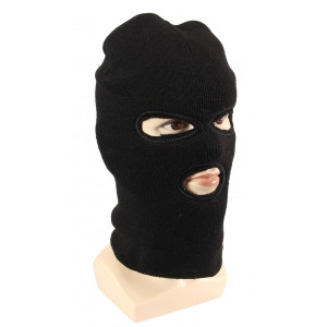 Three Hole Ski Mask w/ Fur