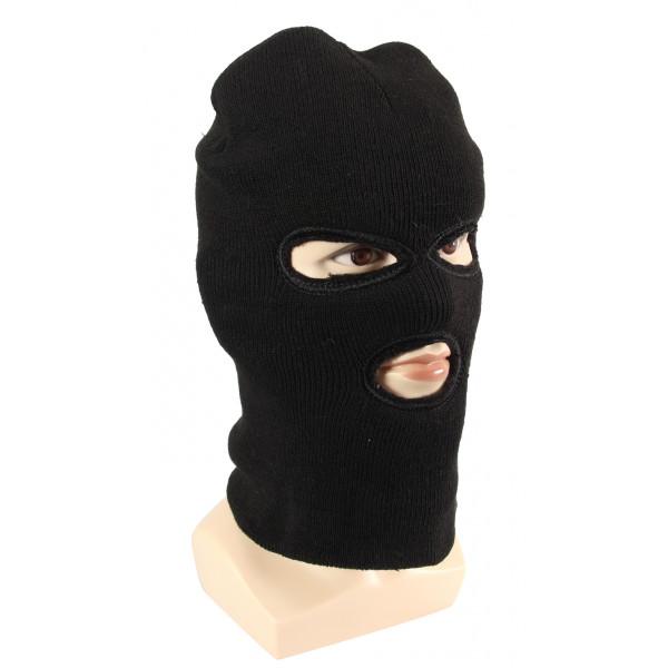 Three Hole Ski Mask w/ Fur