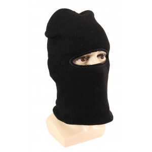 One Hole Ski Mask w/ Fur
